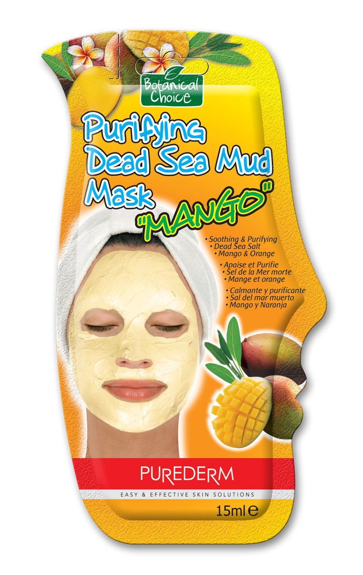 Purederm Purifying Dead Sea Mud Mask (w/Mango & Orange)