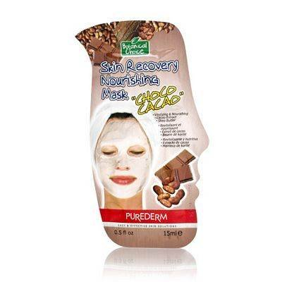 Purederm Skin Recovery Nourishing Mask - Choco Cacao Extract & Cocoa Butter