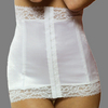 Rago Luxury Satin and Lace Waist Cincher