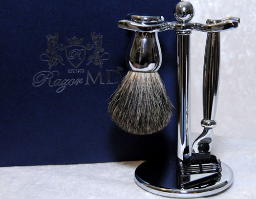 Razor MD Chrome 17 Razor Set