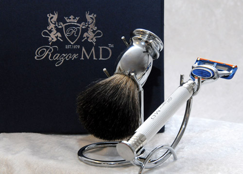 Razor MD iGRIP Chrome Razor Set