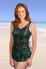 Jodee Mirage Gold Swimdress - Womens (Soft Cup)