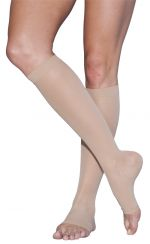 Sigvaris EverSheer Calf Hi Compression Hosiery 15-20 mmHg (Open Toe)