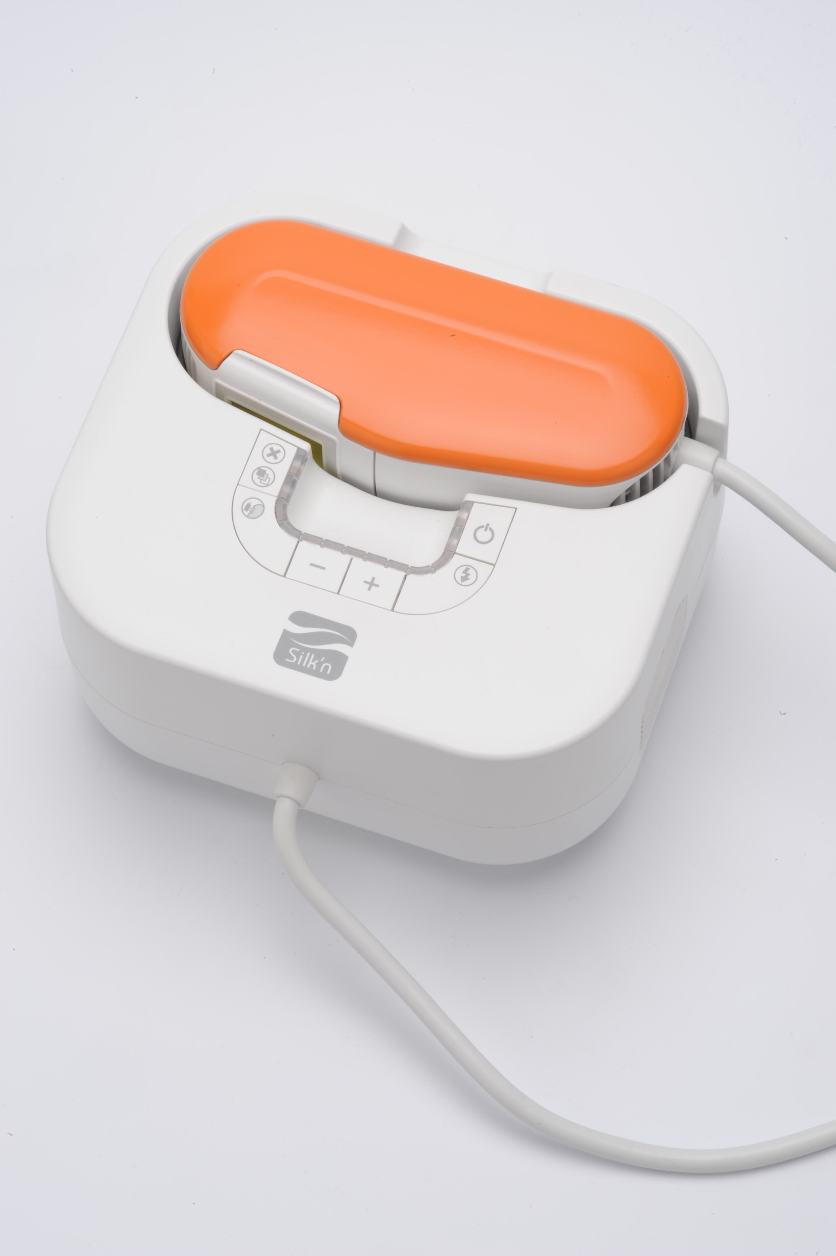 Silk'n SensEpil Face & Body Hair Removal Device - Tangerine Orange (w/1500 pulse cartridge, equal to 2 standard cartridges, $45 value)