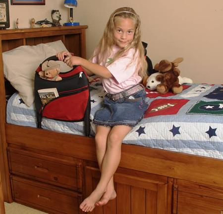 Stander Children's Bed Rail & Sports Pouch