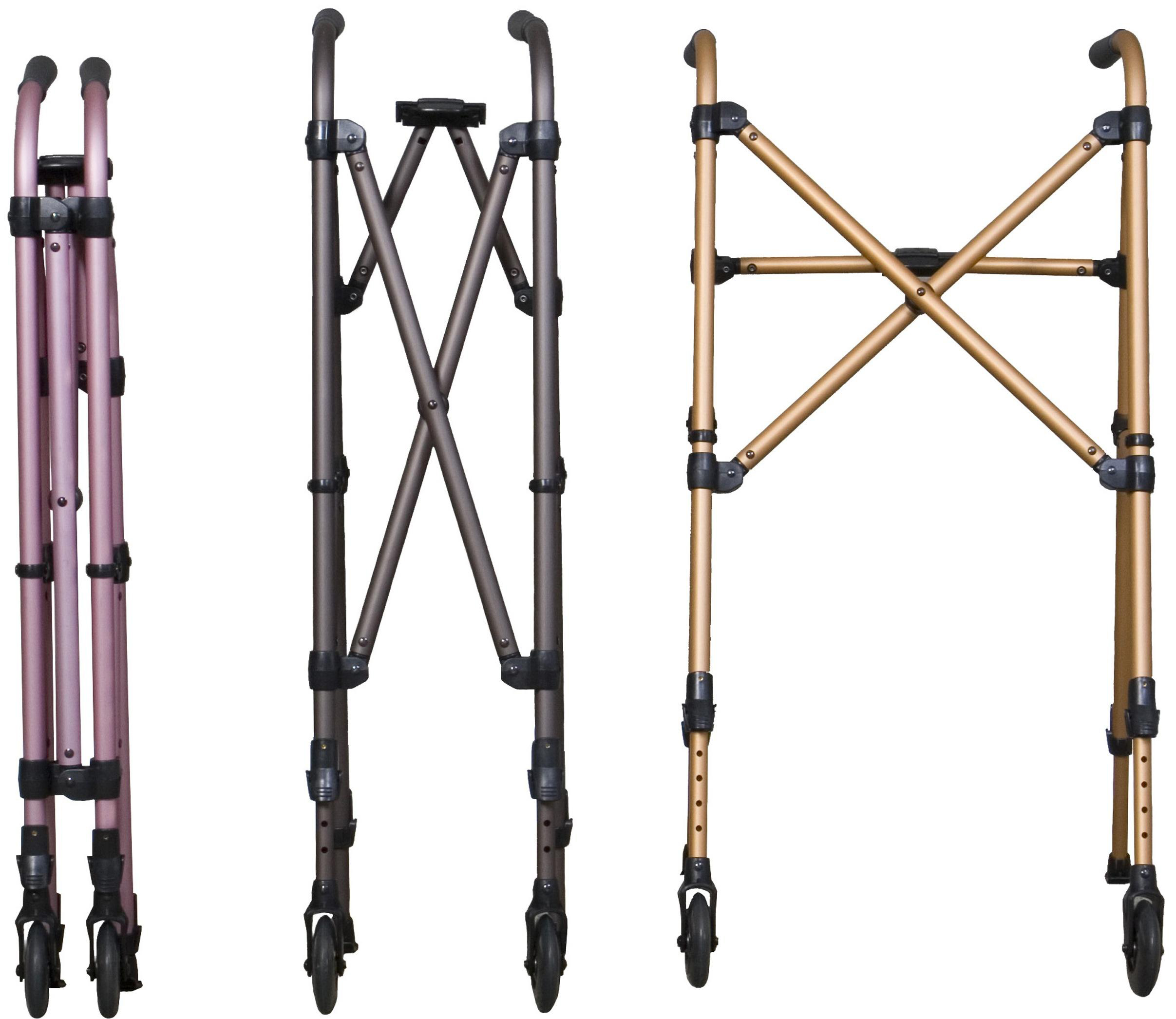 Stander Metro Walker - Regal Rose