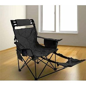 Stander Mr. Big Travel Chair-Black