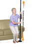 Stander Security Pole-Black