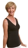 Wear Ease Crisscross Shaper Post-Mastectomy, Breast Augmentation/Reduction Compression Camisole
