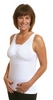 Wear Ease Dawn Post-Mastectomy, Breast Surgery Camisole (w/ 2 Removable Drain Tube Pouches & 2 Breast Forms)