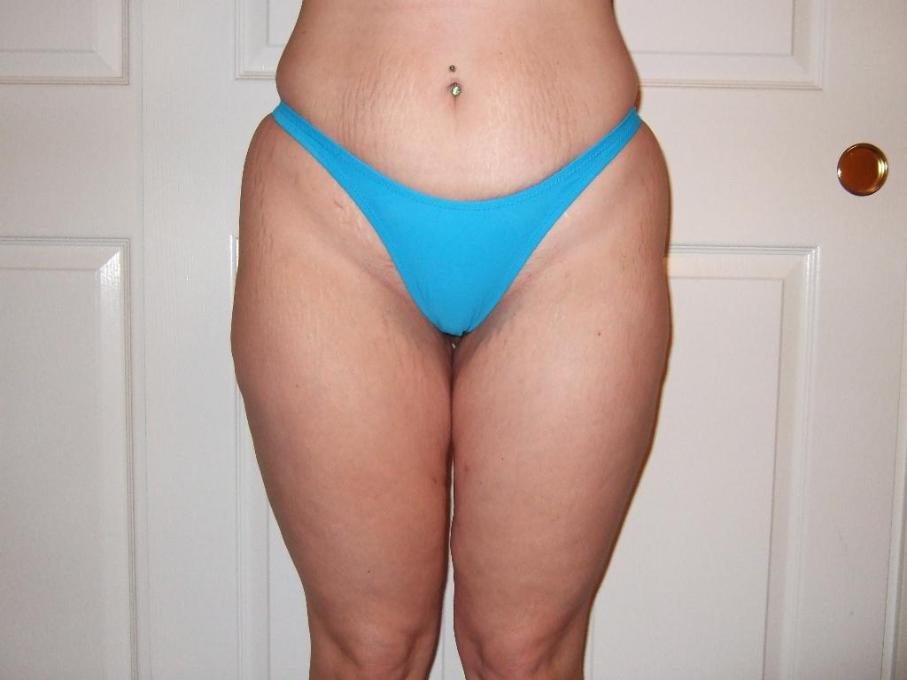 4 months thighs, hips, abs