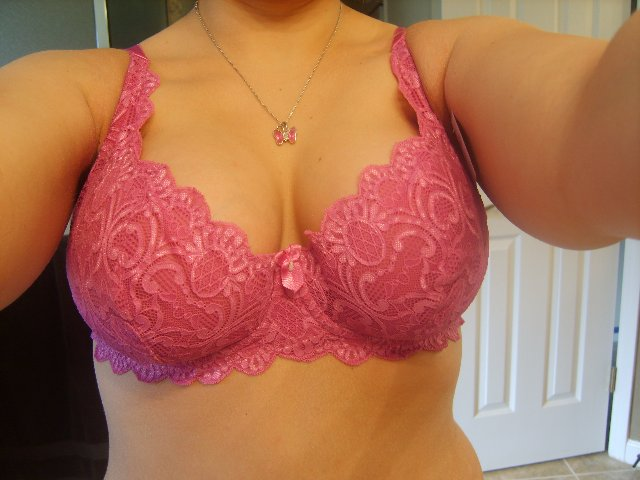 Another Fredericks's lace bra