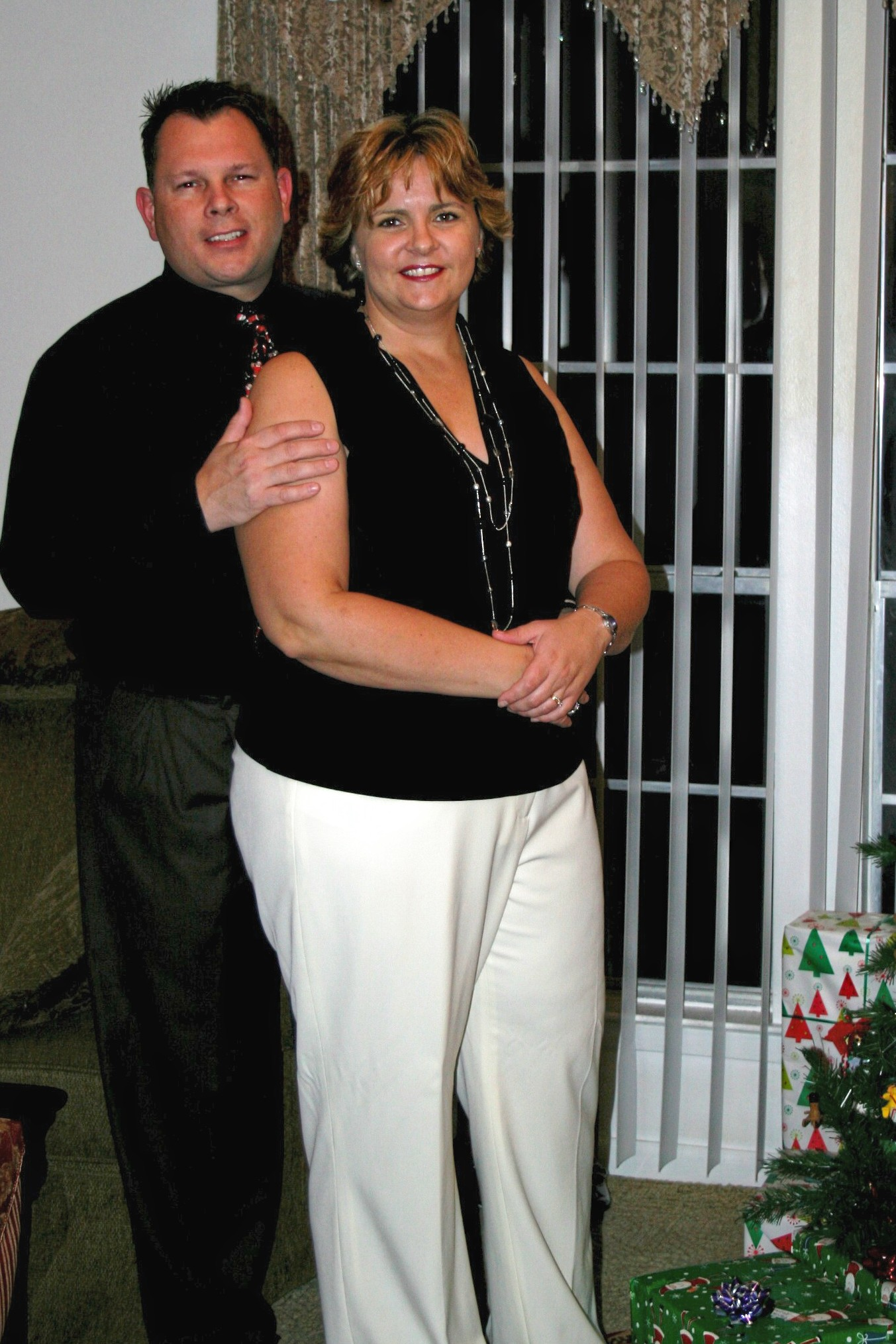 Xmas 2006 (before 75 lb loss)