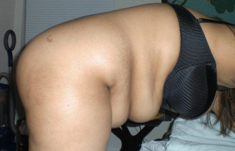 Another humiliating bending over pic