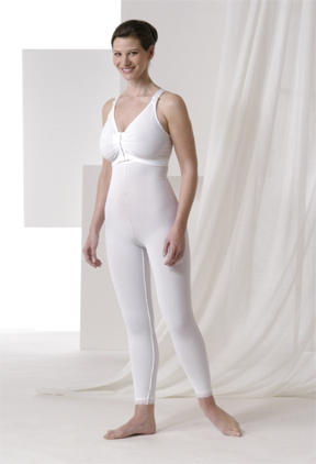 Full Body Cosmetic Surgery Compression Garment & Bra - Below Knee - Stage 2 (Rainey)