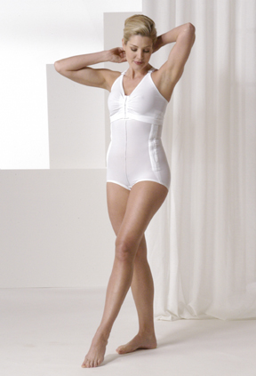 Mid Body Brief Cosmetic Surgery Compression Garment & Bra - Stage 1 (Rainey)