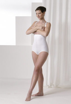 Mid Body Brief Plastic Surgery Compression Garment - Stage 2 (Rainey)
