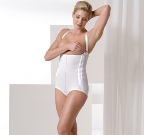 Mid Body Brief Cosmetic Surgery Compression Garment - Stage 1 (Rainey)