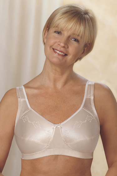 Trulife (Camp)  Embroidered M-Frame Softcup Bra