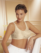 Amoena Ella Full Figure Soft Cup Bra w/Powernet Back