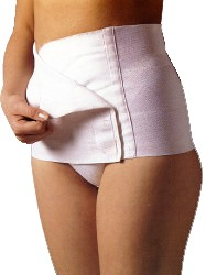 Postpartum Support Girdle w/Velcro Closure