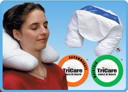 Core Products Neck/Headache Ice Pillow w/Cold Therapy Compress
