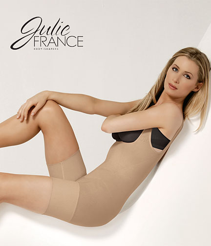 Julie France-Euroskins Frontless Body Shaper