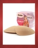 Bubbles Women's Boobles! Foam Triangle Push-up Pads